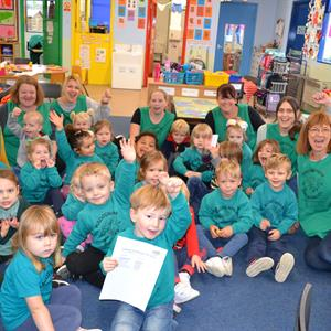 Haddenham Pre-School awarded Outstanding again at our recent OFSTED inspection!