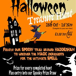 Pre-school Halloween Trail
